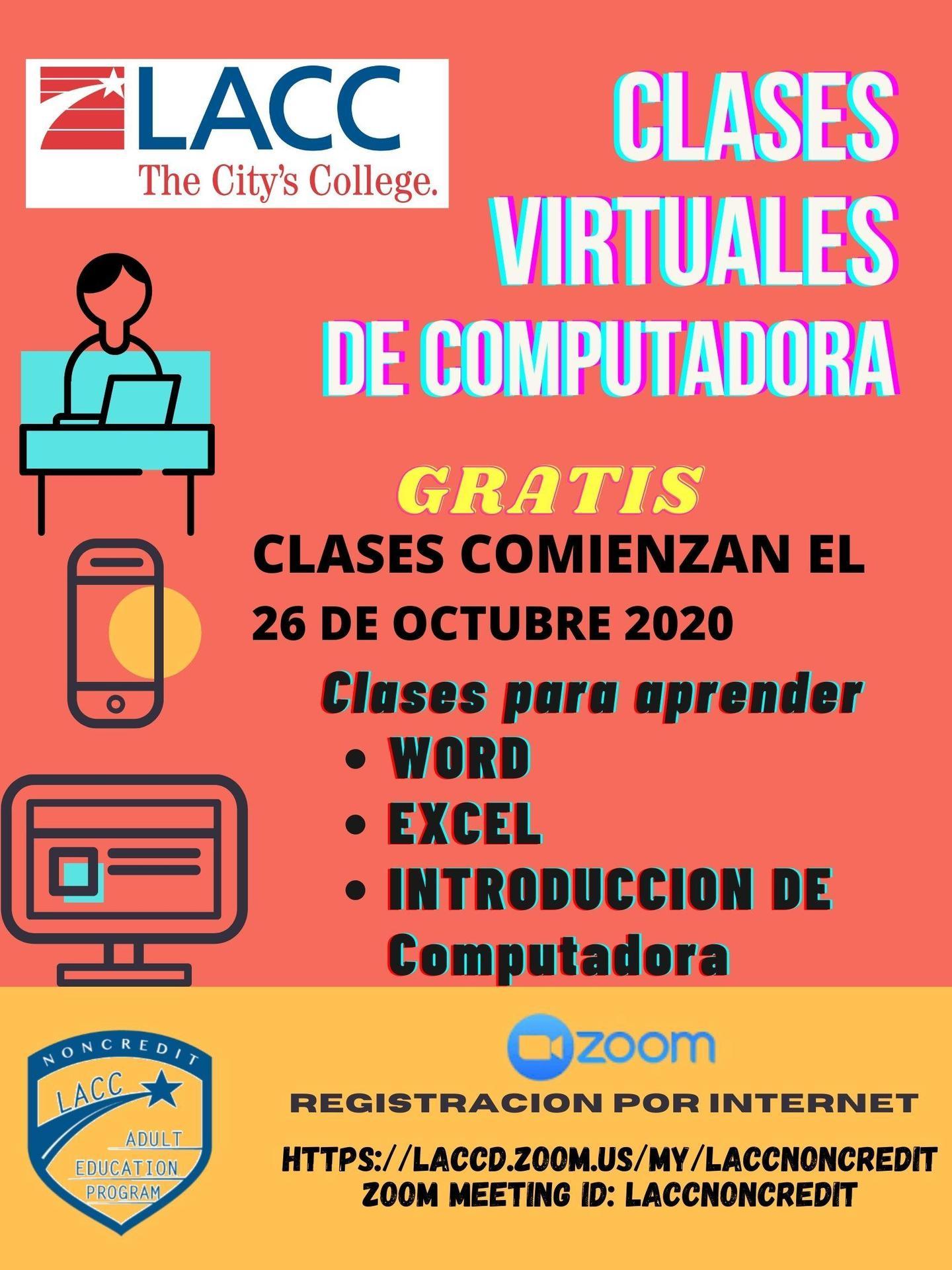 Clases Virtuales de Computadora