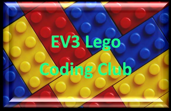 EV3 Lego Coding Club