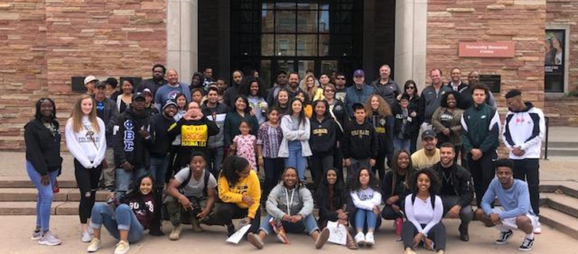 2019 CU Visit & Game for 8th Graders and their Families