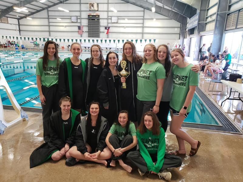 BHS Swim & Dive Take 1st Place! Thumbnail Image