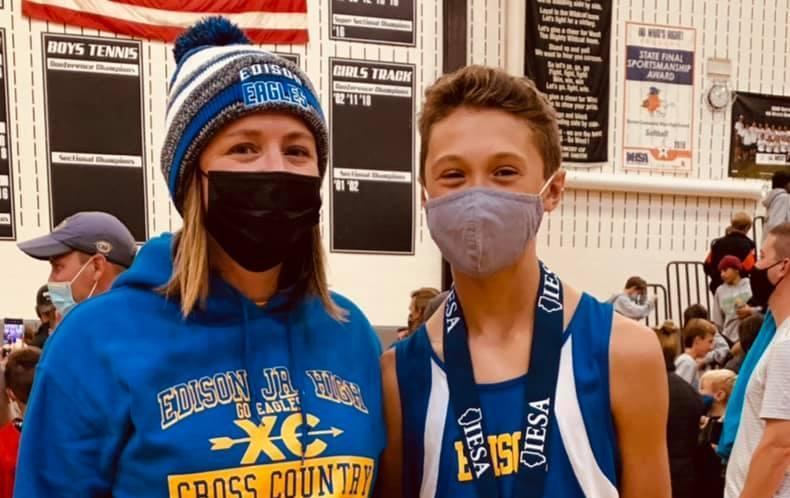 Edison Student Places 24th at State Cross Country Meet Featured Photo