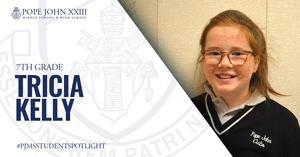 Tricia Kelly PJMS Student Spotlight
