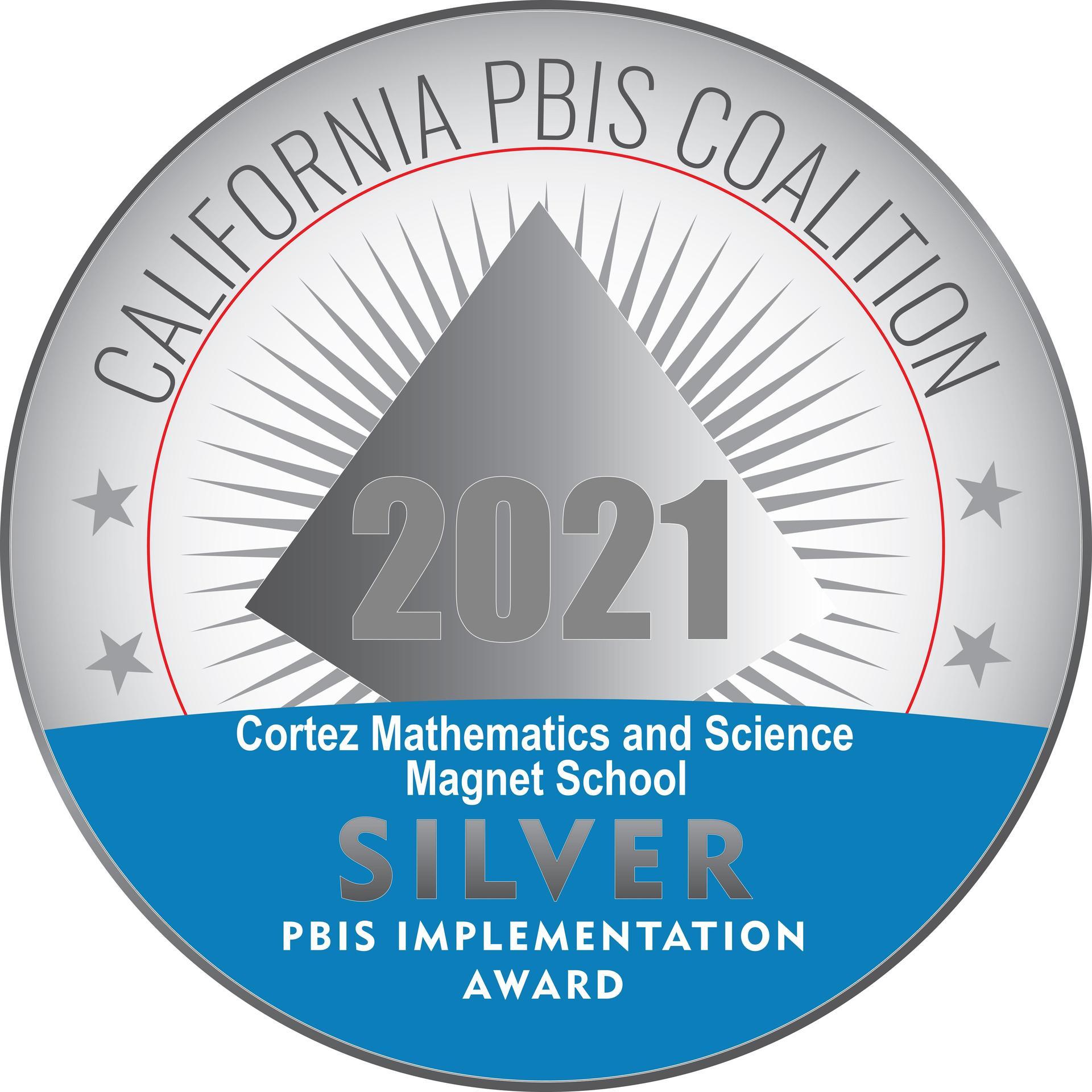 Cortez Silver PBIS logo