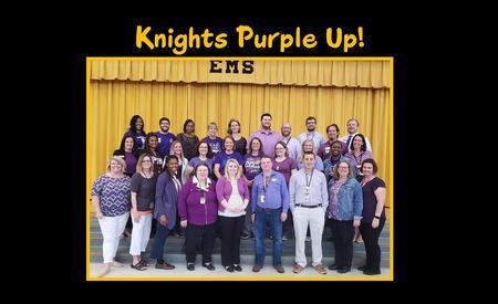 Knights Purple Up!