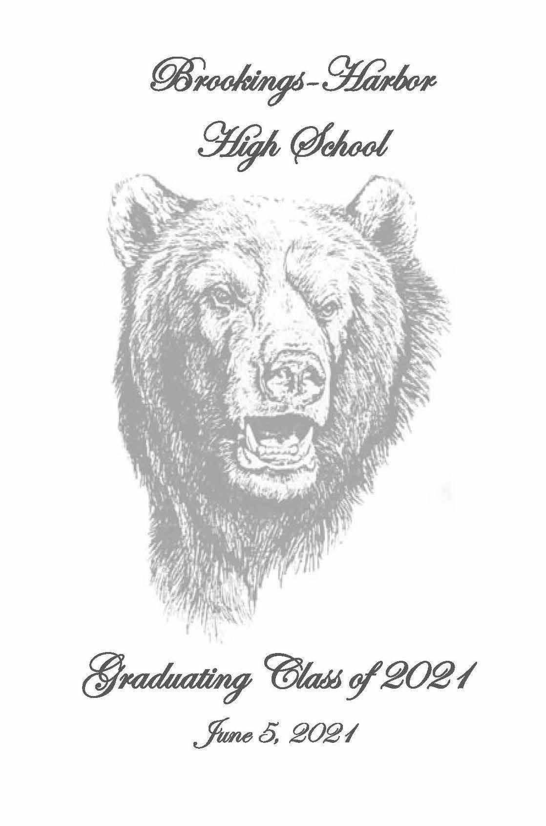 BHHS Grad Program Page 1