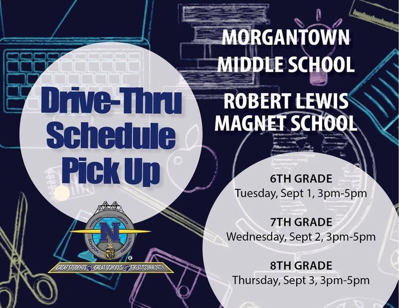 Morgantown RLMS Schedule Pick Up