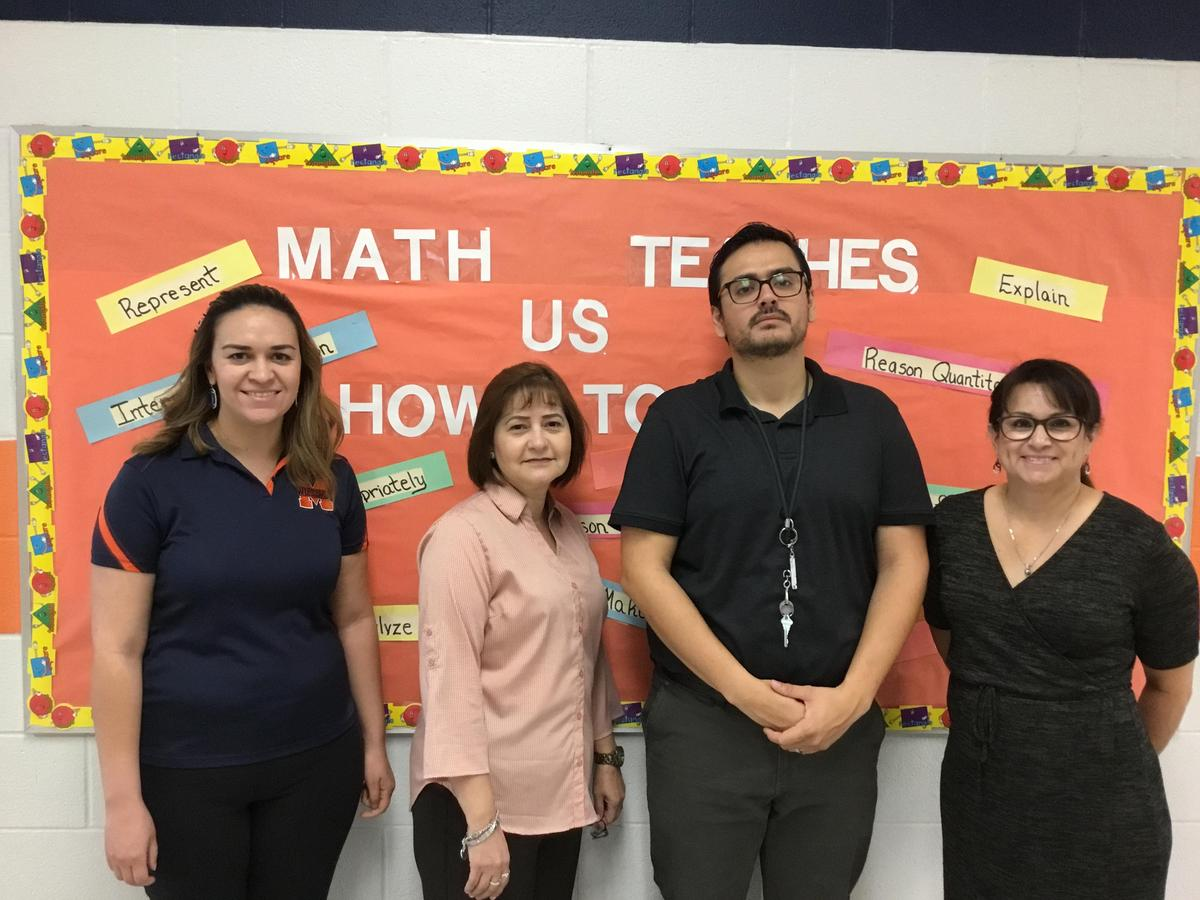 Image of: 8th Grade Math Team