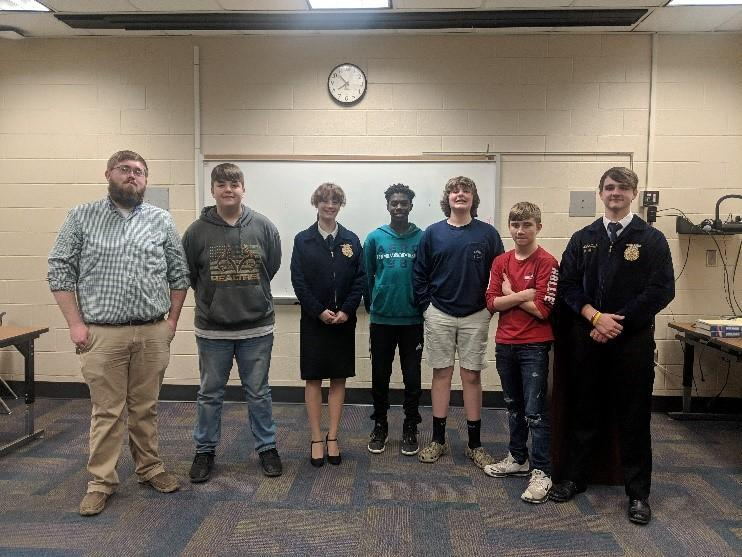 Cheraw High FFA compete in Region 3 events Featured Photo