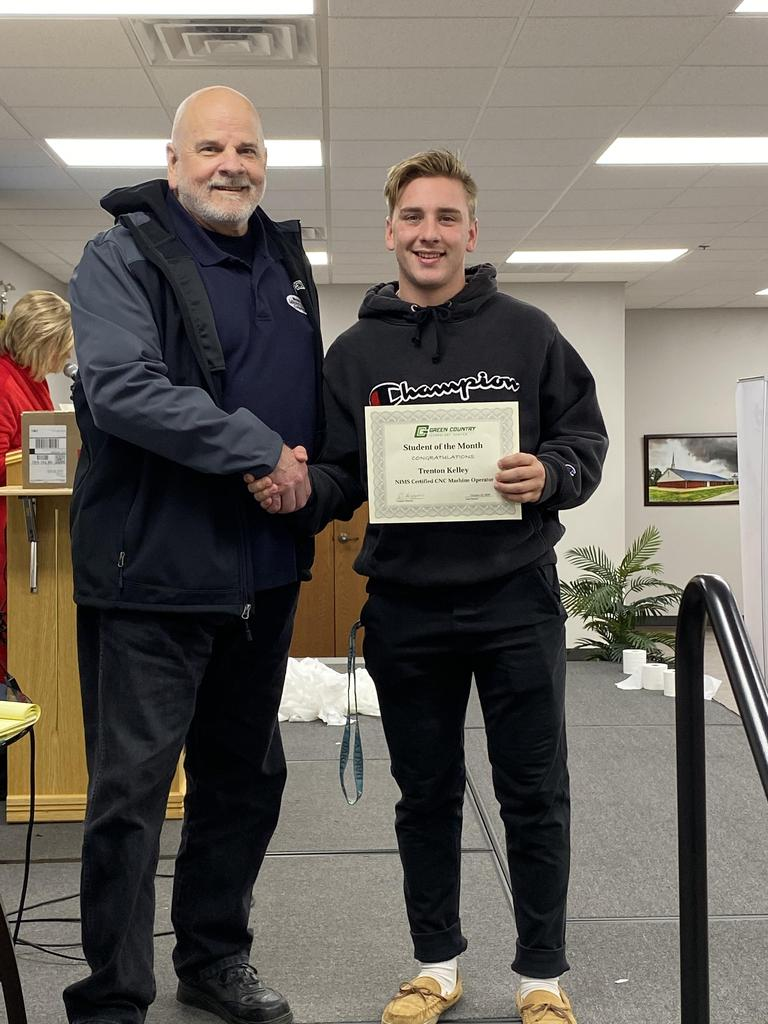 CNC Student of the Month