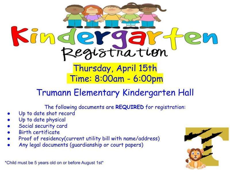 Kindergarten Registration for the 2021 - 2022 School Year Featured Photo