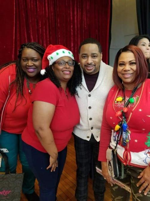 Young's Staff with Smokie Norful