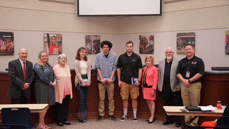 BOE Recognizes Students for Joining the Military