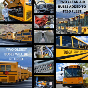 TCSD gets two clean air buses