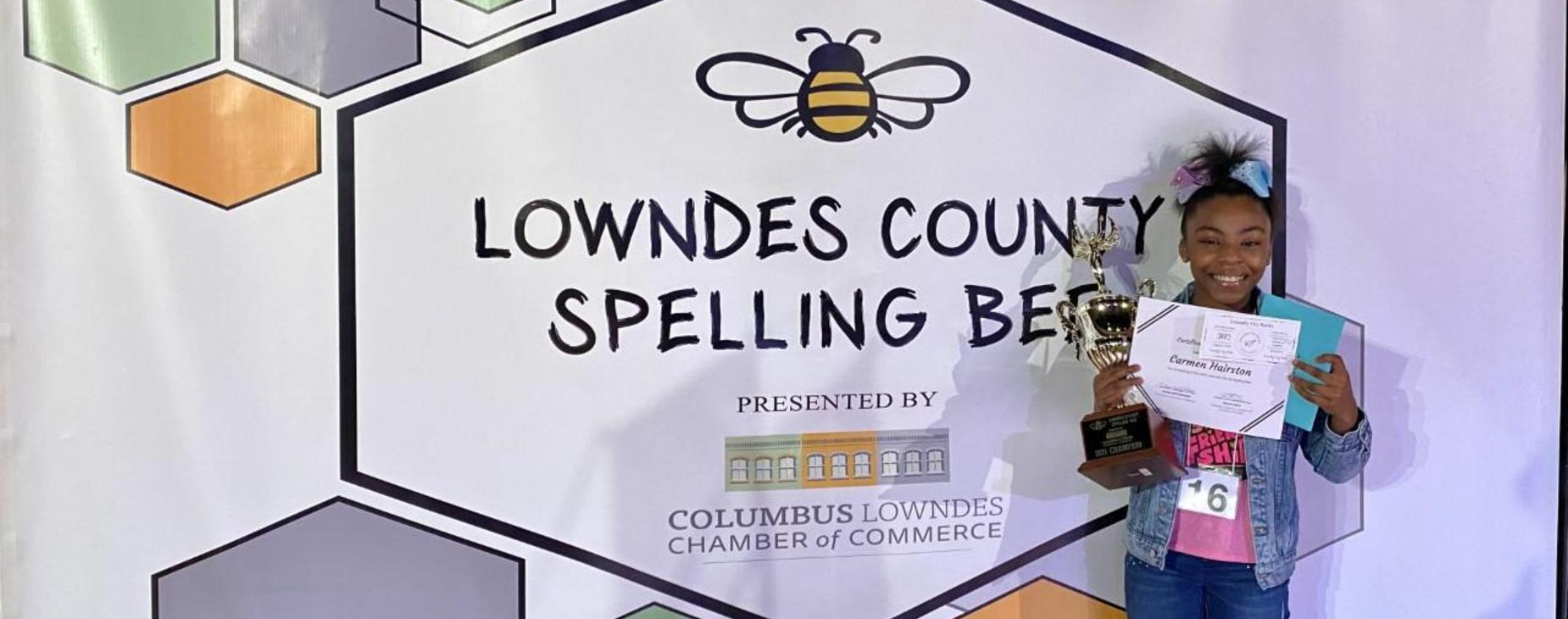 Spelling Bee Winner Carmen H.