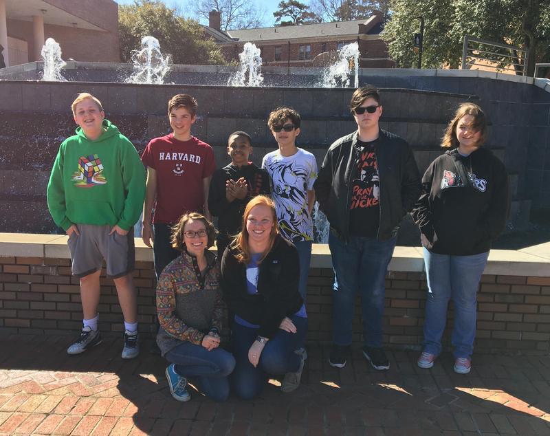 8th Grade Quiz Bowl Team