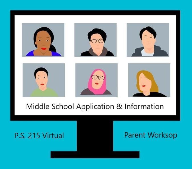 virtual meeting on a desktop computer clipart