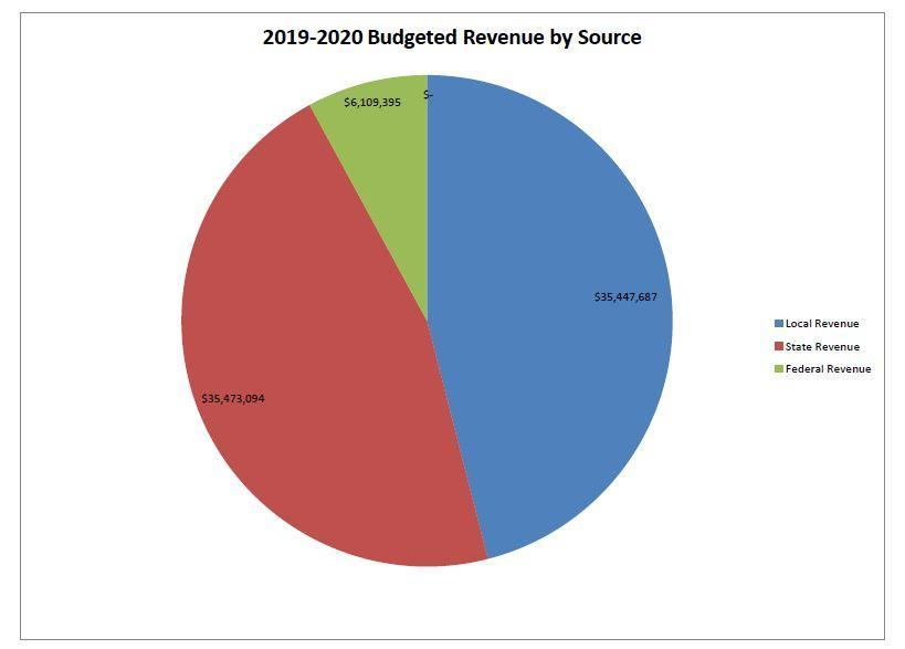 Budgeted Revenue by Source