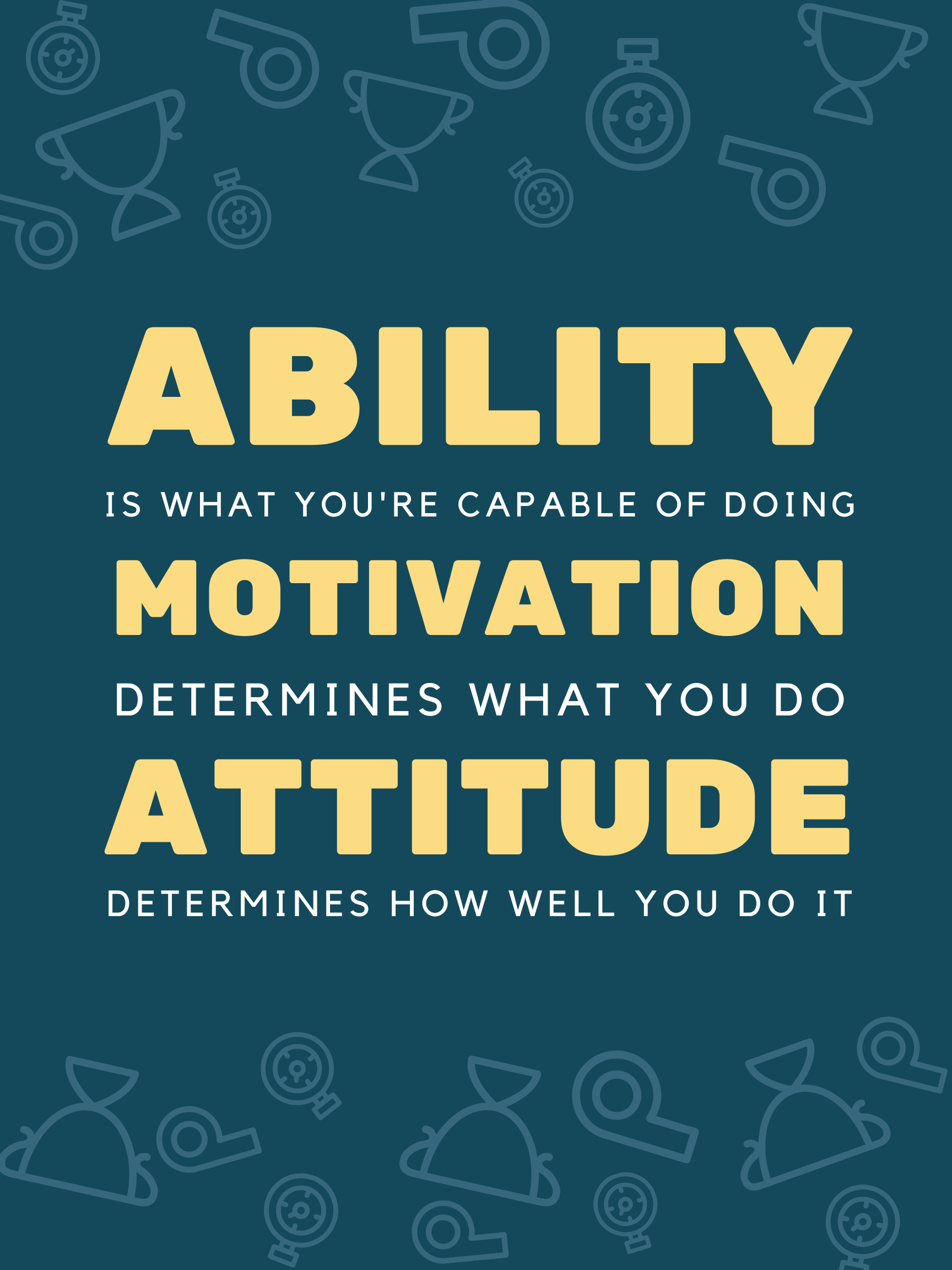 Ability and Motivation