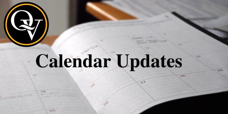 Calendar Updates