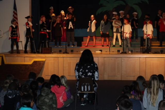 3rd Grade class play performance, The Pirates From Grammar Island