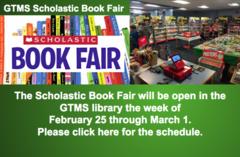 Book Fair February 25 through March 1