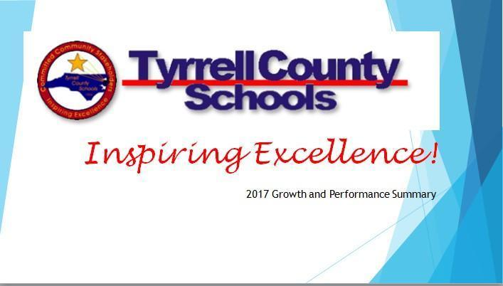 graphic of Tyrrell County Schools Inspiring Excellence