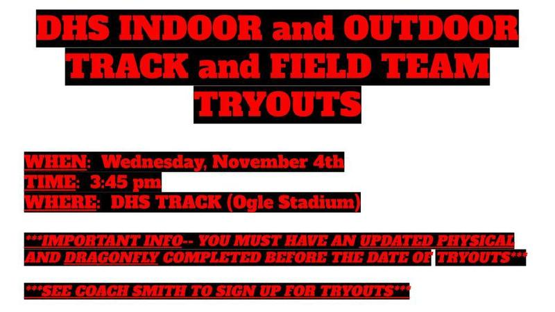 try outs