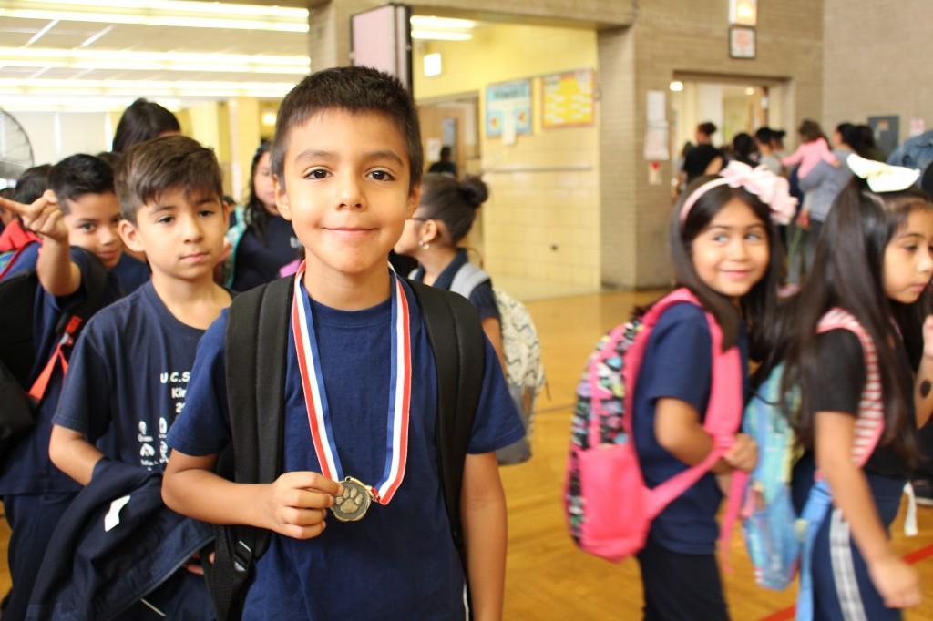 2nd Grade medal winner