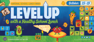 Level Up - School Lunch Week
