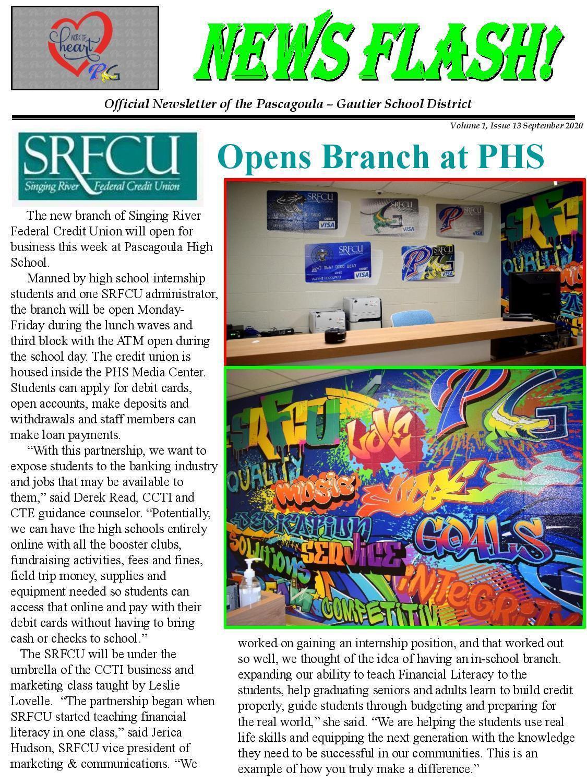 SRCU opens branch