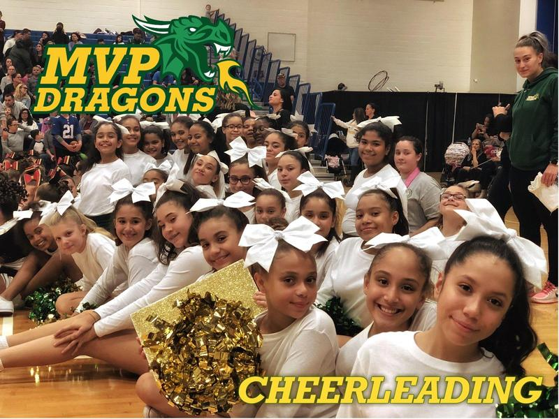 MVP Dragons Cheerleading Team takes first place at 2018 Hofstra Cheer Youth Competition Featured Photo