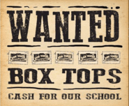 Box Tops Wanted Flyer
