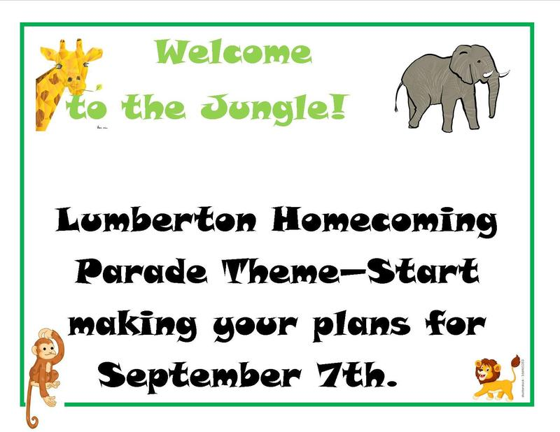 2019 Homecoming Parade Theme