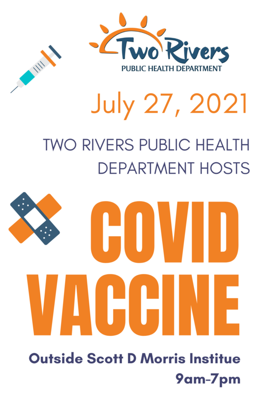 Covid 19 Vaccines flyer