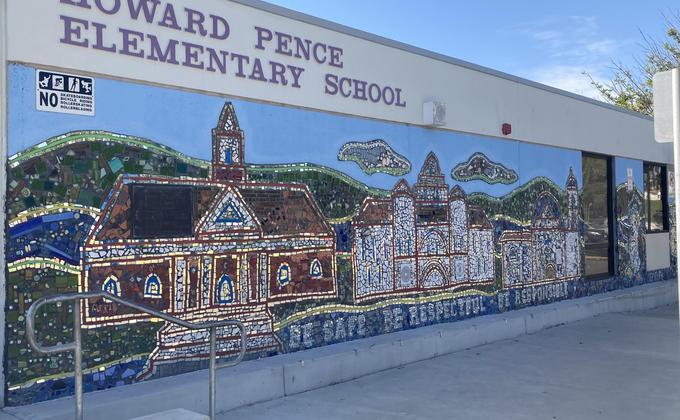 Howard Pence Elementary School Mural