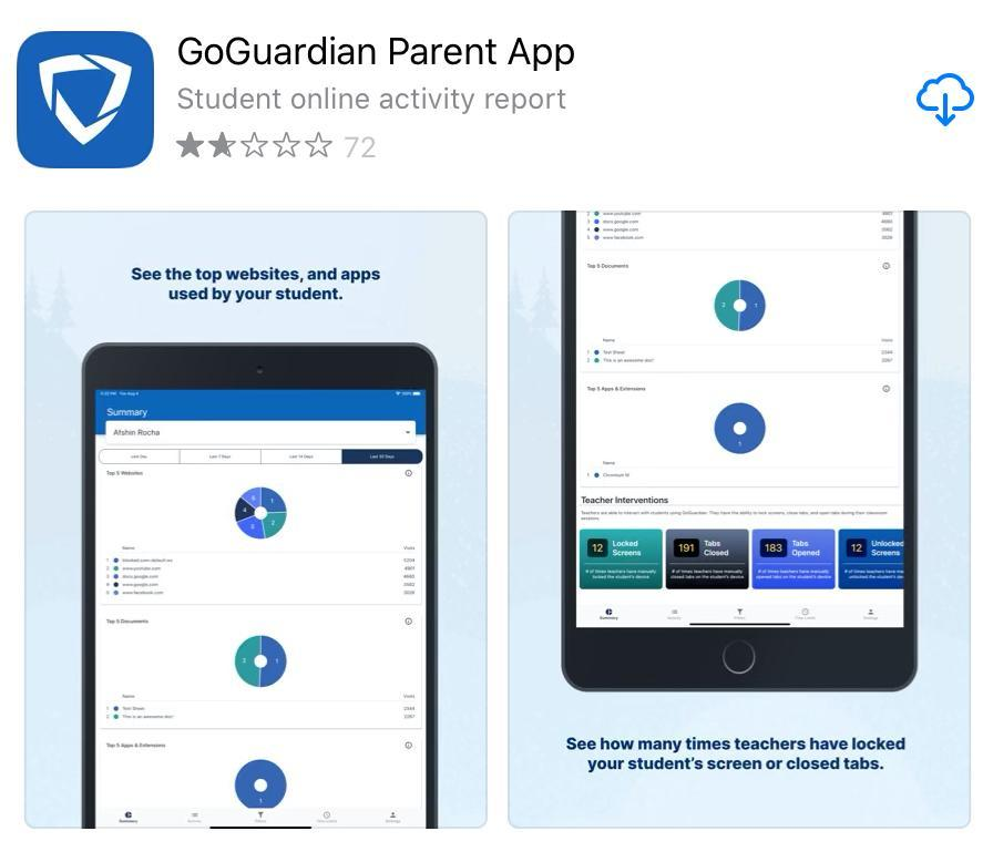 GoGuardian Parent