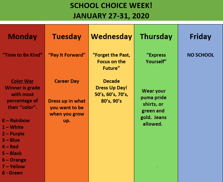 January 27th-31st is School Choice Week! Featured Photo
