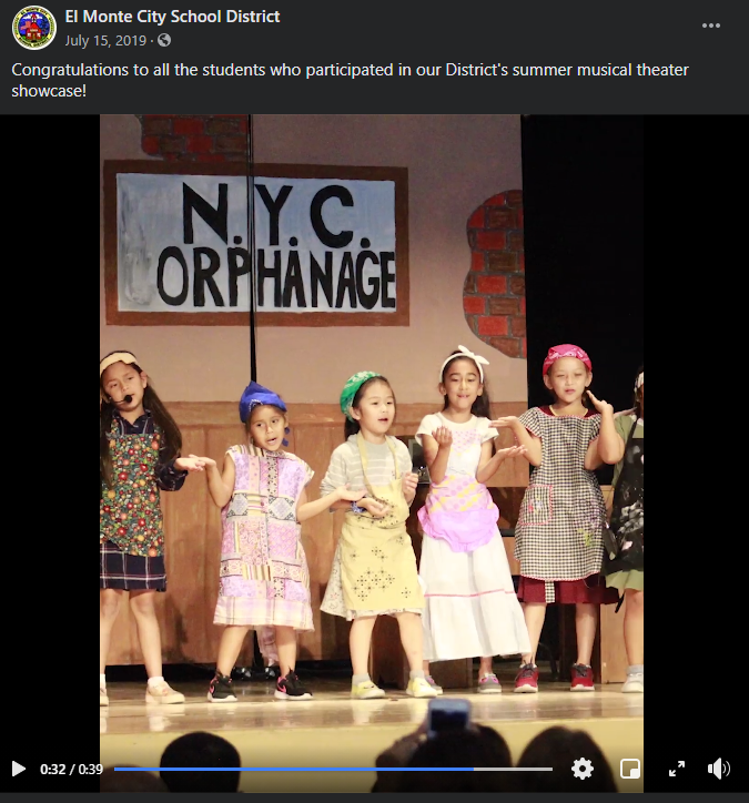 More photos from Annie play