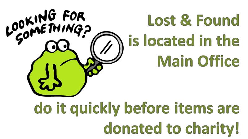 Lost & Found info