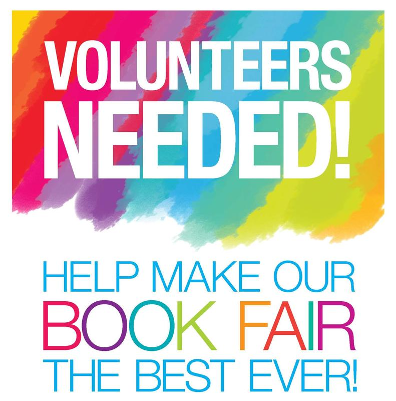 Book Fair Volunteers Needed! Featured Photo