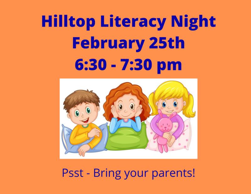 Hilltop Literacy Night