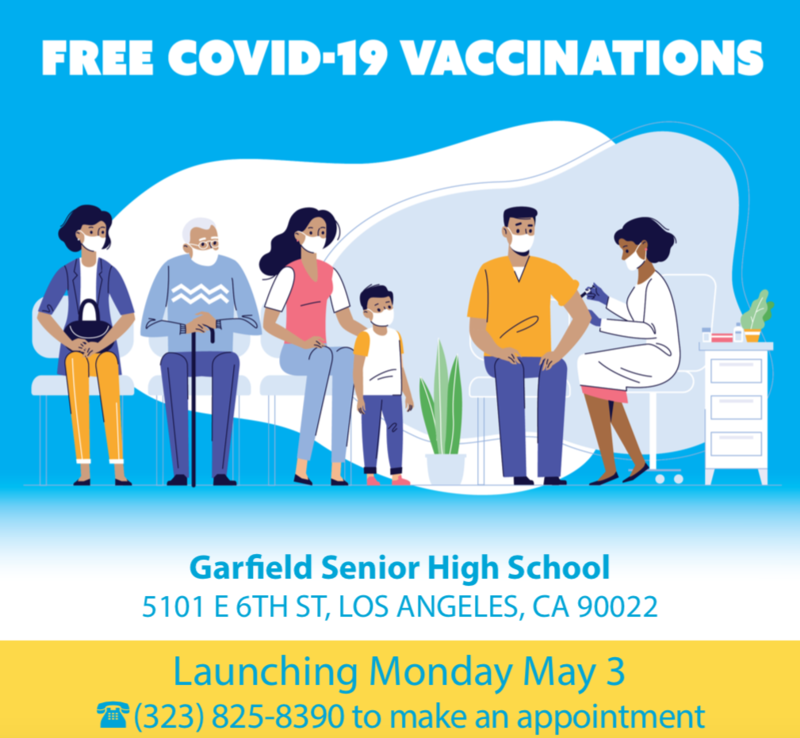 FREE Covid-19 Vaccinations Featured Photo
