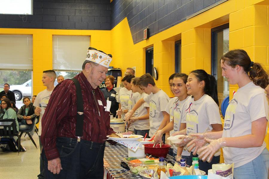 Veteran's Day Luncheon 2018