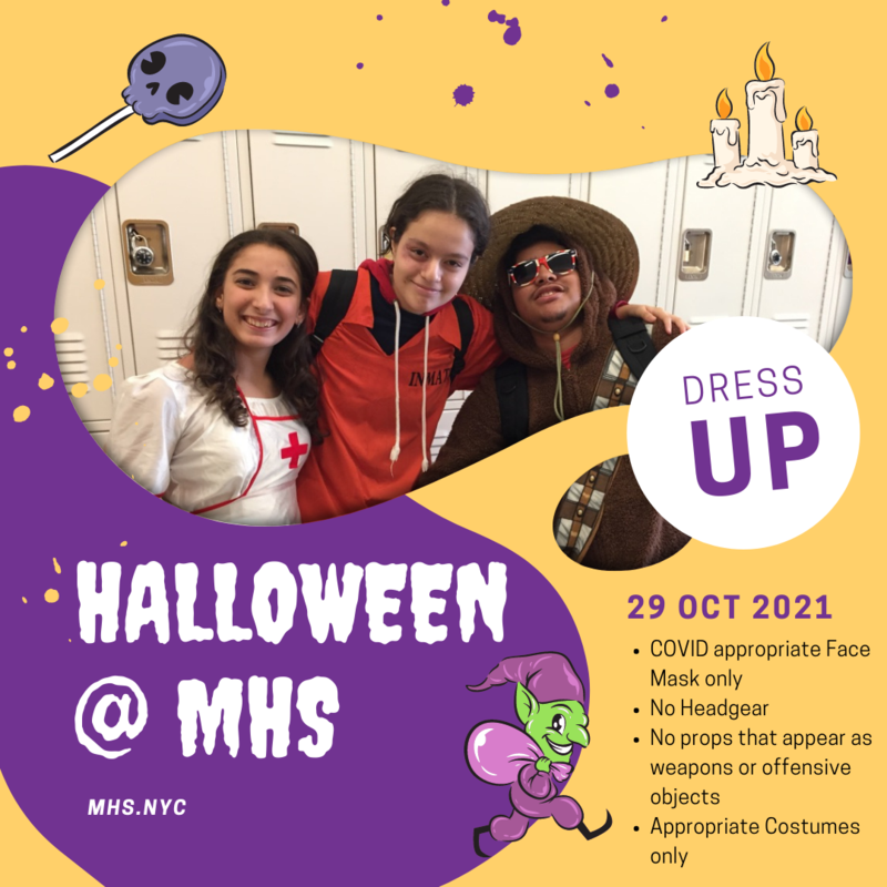 Halloween at Maspeth High School