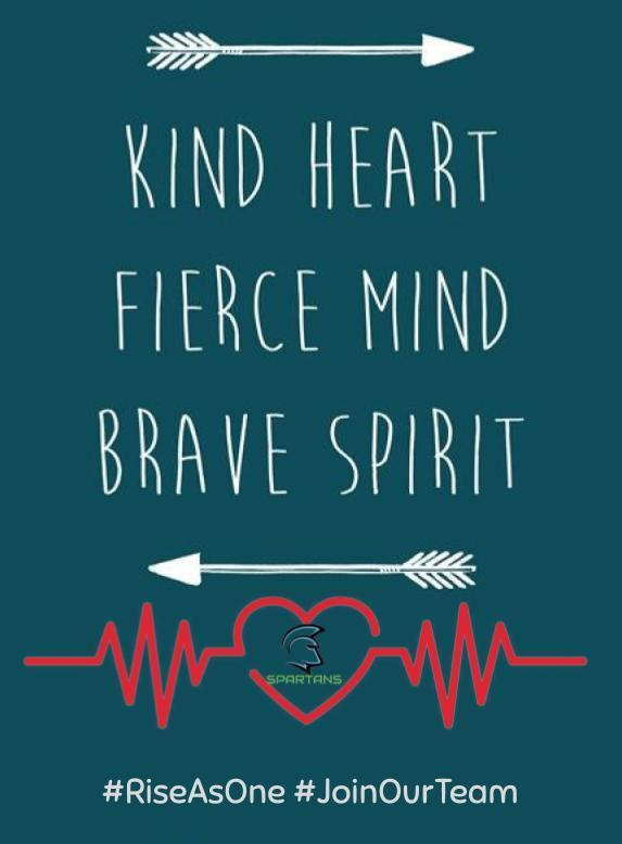 kind heart fierce mind brave spirit