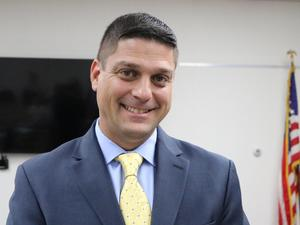 Photo of Brian Gechtman who was Board appointed on July 18 as the new principal of Roosevelt Intermediate School.  Gechtman currently serves as the school's assistant principal.