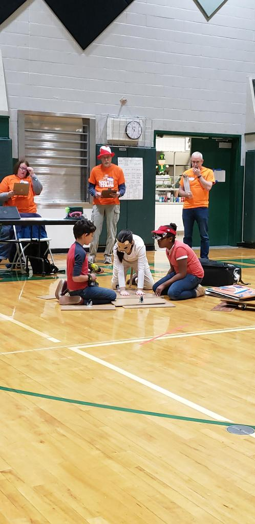 Students participate in Odyssey of the Mind