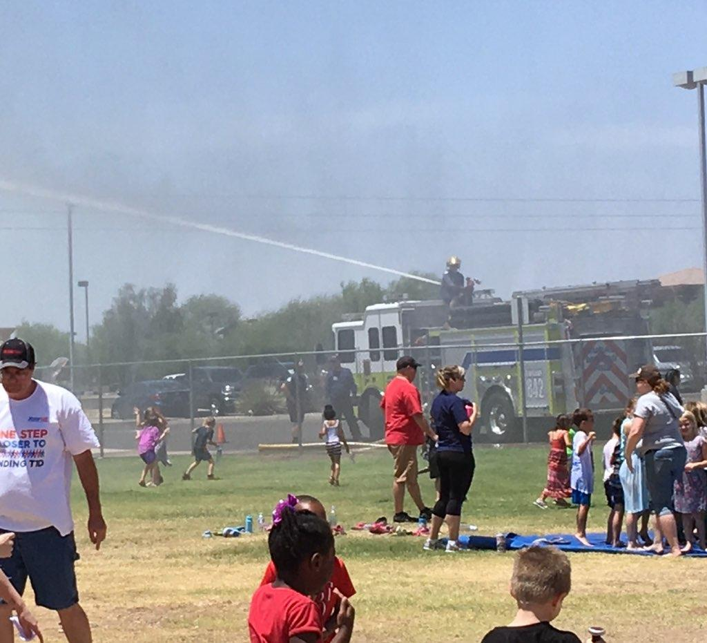 Thank you Rural Metro Fire Department!