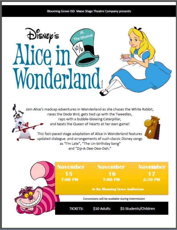 Alice in Wonderland Jr., The Musical Thumbnail Image