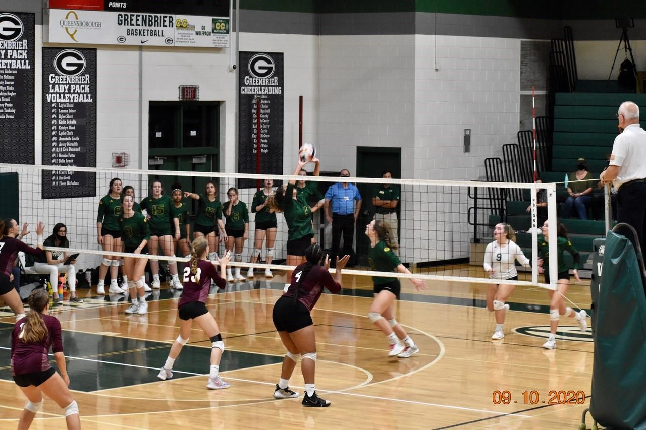 Set vs. Lakeside 9/10